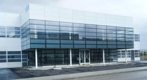 Another photo of the GLASS & A.L.U. CAD LTD. new plant